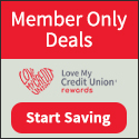 Love My Credit Union Rewards- Members have saved over $1 billion on discounts from partners