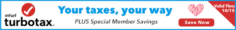 Beat The Tax Deadline and Save up to $15 on TurboTax!