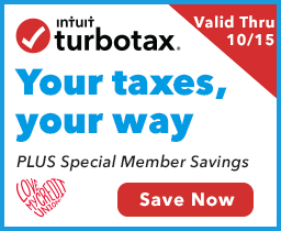 TurboTax Sweepstakes - Save Up To $15