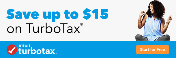Members can save up to $15 with TurboTax