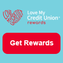 Start saving with member only deals from Love My Credit Union Rewards