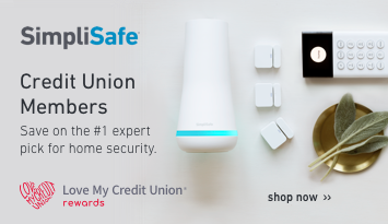 Credit Union Members Save on SimpliSafe the #1 pick for home security