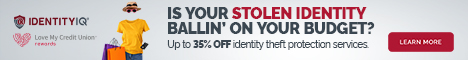 Save up to 35% on Identity Theft and Credit Report Monitoring