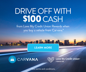 Carvana - Drive Off and Get $100
